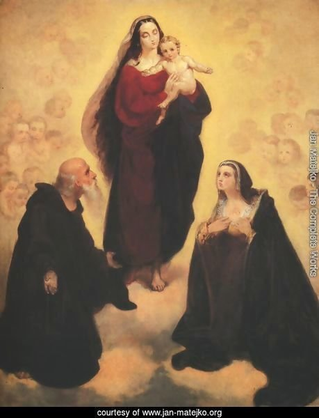 Madonna and Child with St. Leonard and St. Joan