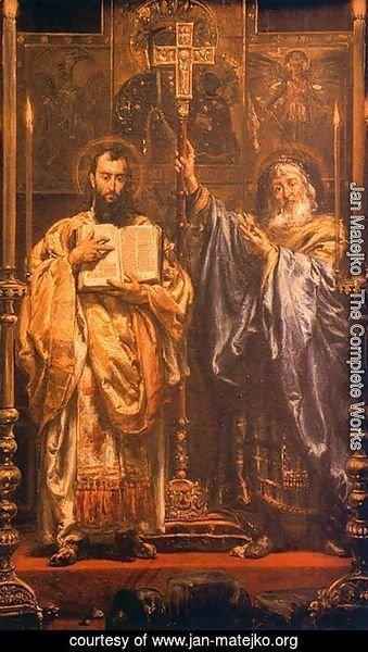 Jan Matejko - St. Cyril and St. Methodius I