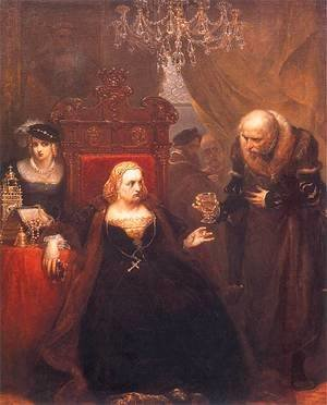 Jan Matejko - Poisoning of Queen Bona