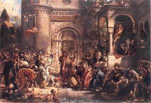 Jan Matejko - Immigration of the Jews