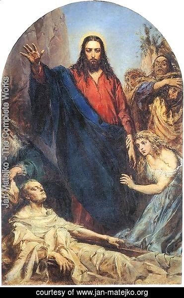 Jan Matejko - Christ