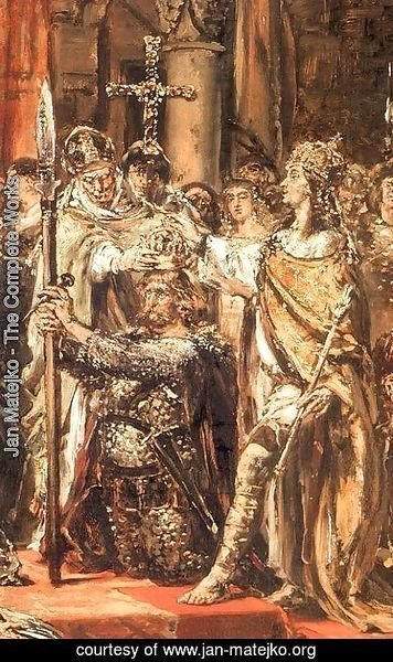 Jan Matejko - Coronation