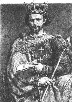 Jan Matejko - Louis the Hungarian