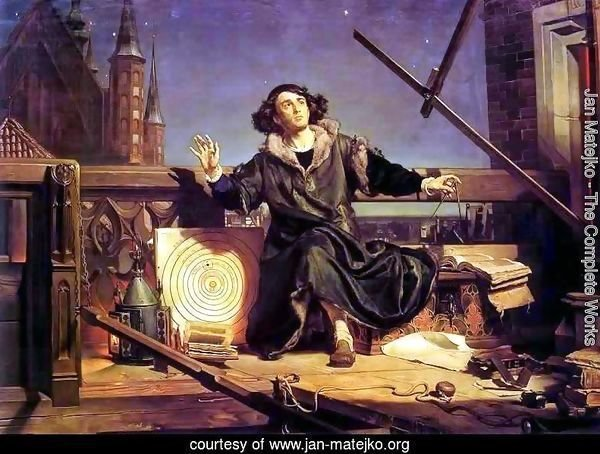 Copernicus in the tower at Frombork