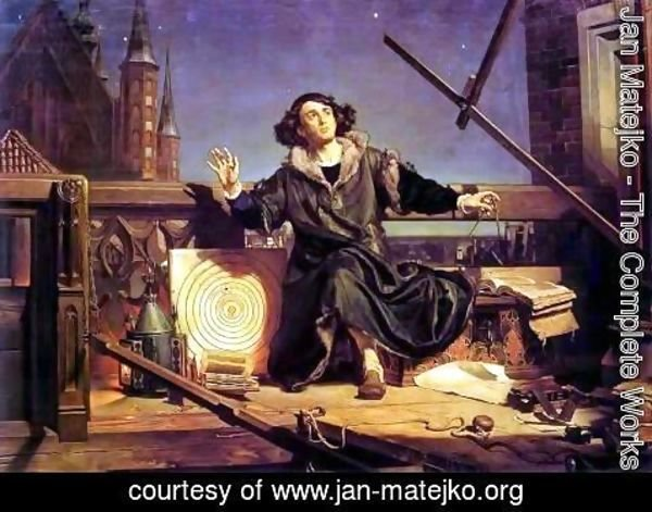 Jan Matejko - Copernicus in the tower at Frombork