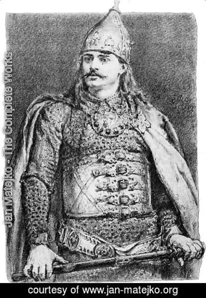 Jan Matejko - Boleslaw III of Poland (Boleslaw the Wry mouthed)
