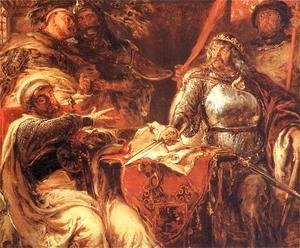 Jan Matejko - Wladyslaw the Short