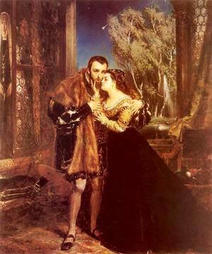 Jan Matejko - Sigmund and Barbara