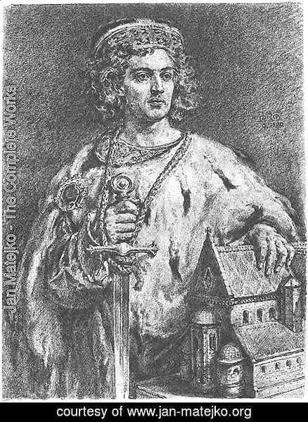 Jan Matejko - Boleslaw IV the Curly