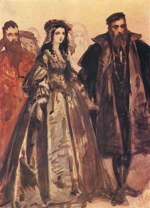 Jan Matejko - Sigmund and Barbara 2