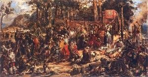 Jan Matejko - Christianization of Lithuania  A D  1387