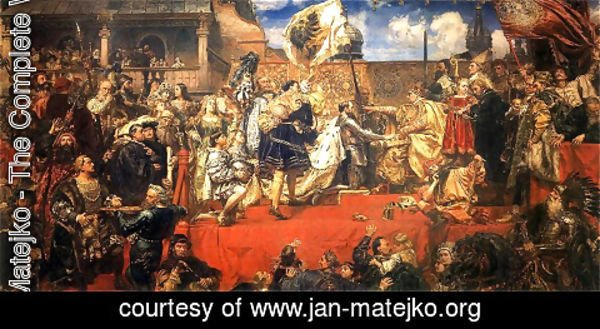 Jan Matejko - The Prussian Homage