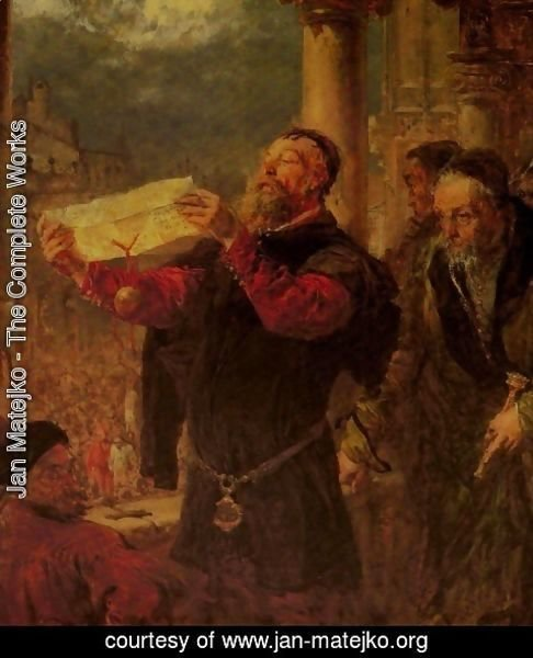 Jan Matejko - Sentencing Matejko to Death