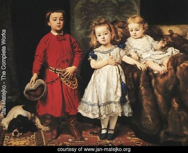 Portrait of Artist's Children