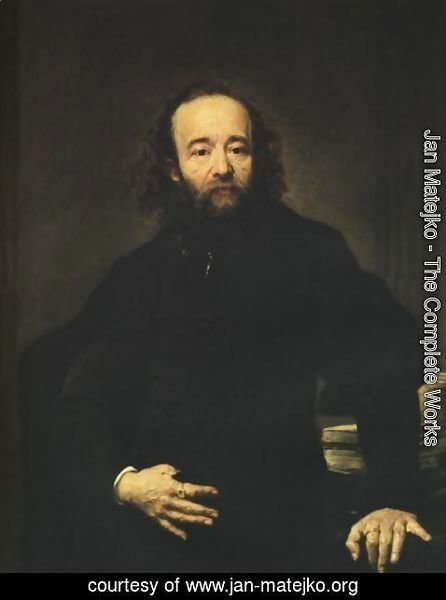 Jan Matejko - Portrait of Leonard Serafinski