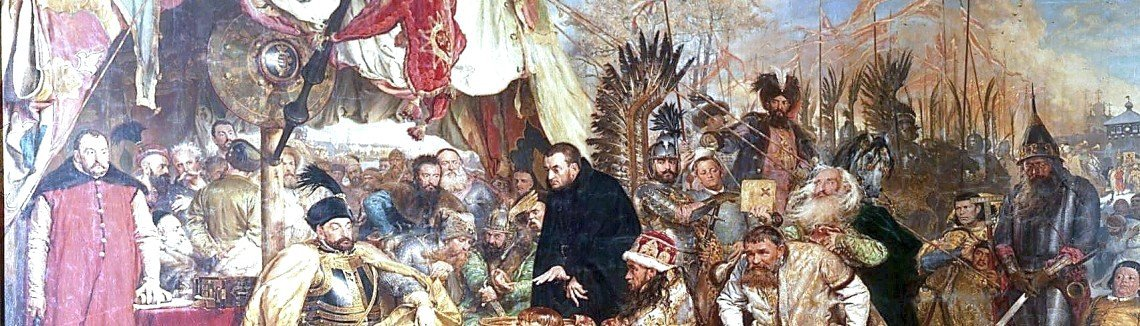 Jan Matejko - Stefan Batory at Pskov