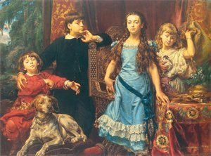 Jan Matejko - Artist's Children