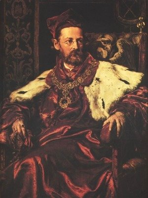 Jan Matejko - Portrait of Jozef Szujski