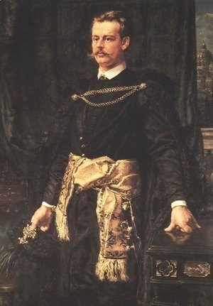 Jan Matejko - Portrait of Artur Potocki