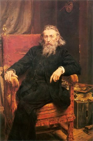 Jan Matejko - Self-Portrait