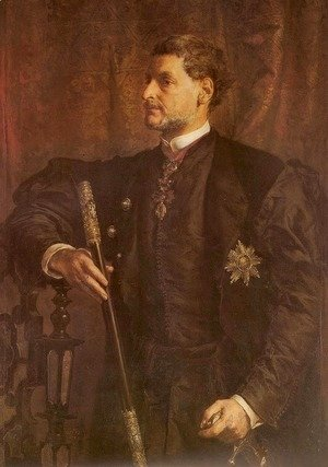 Jan Matejko - Portrait of Alfred Potocki
