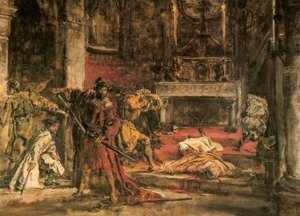 Jan Matejko - Slaying of St. Stanislaus