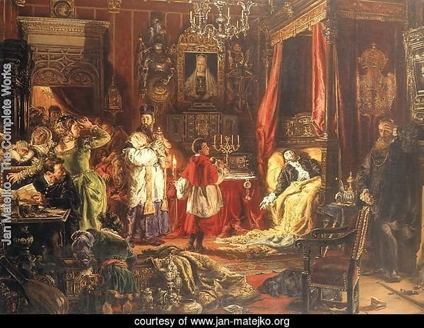 Death of Sigismund Augustus in Knyszyn