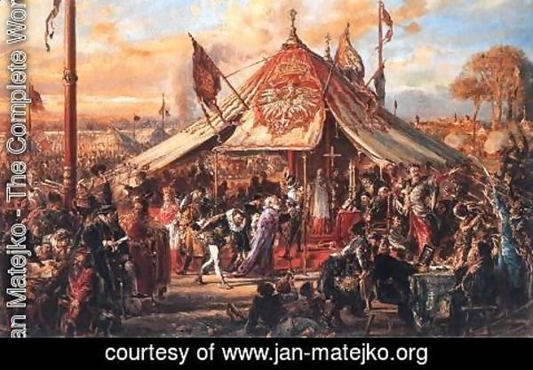 Jan Matejko - Poland at the Zenith of Power - Golden Liberty - 1573 Election