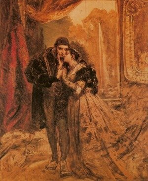 Jan Matejko - King Sigismund II Augustus and Barbara Radziwill