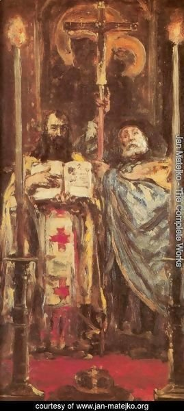 Jan Matejko - St. Cyril and St. Methodius